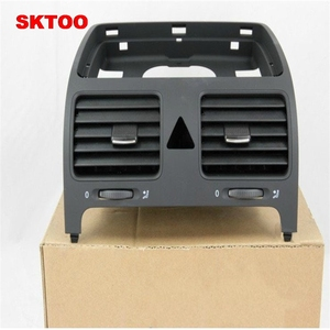 SKTOO OEM Black Right Dashboard Air Conditioning Outlet Vent Fit JETTA 5 GOLF MK5 GTI MKV Rabbit 1KD 819 728