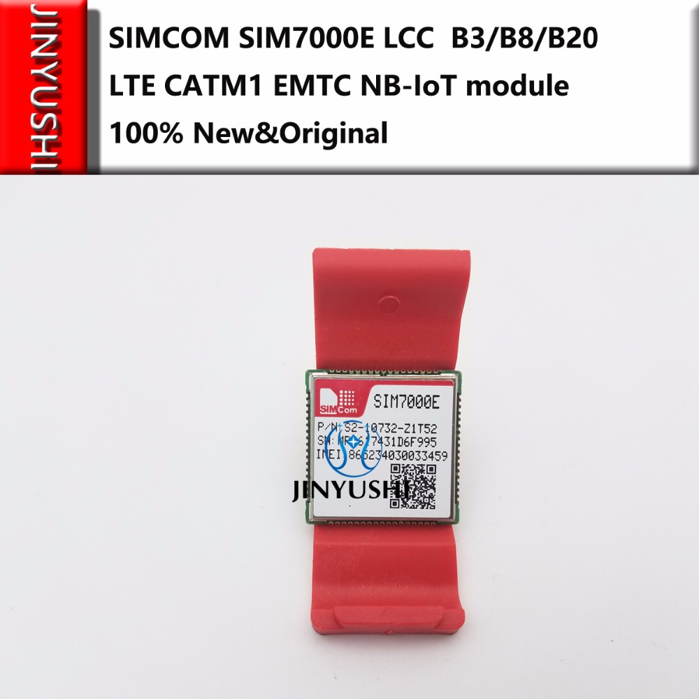 SIMCOM SIM7000E 100% New&Original  B3/B8/B20 LTE CATM1 EMTC NB-IoT Module  Compatible With SIM900 And SIM800F
