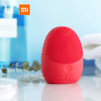Xiaomi mijia sonic facial cleansing brush Mini Electric Massage Washing Machine Waterproof Silicone Deeply face Cleansing Tools 6