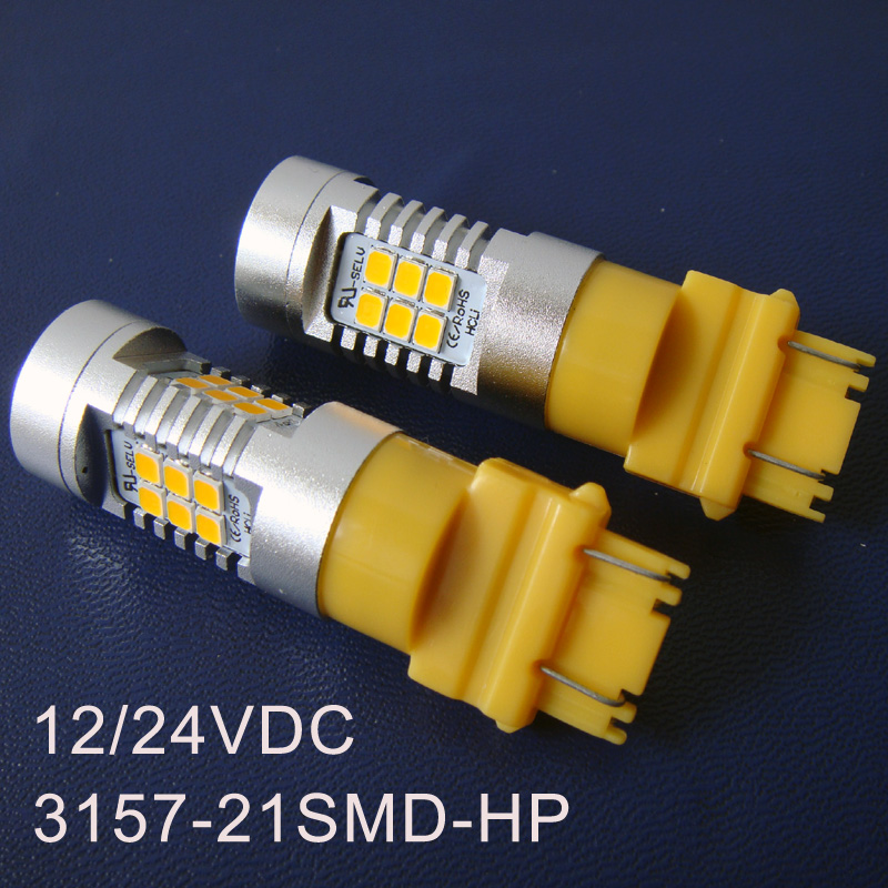 High quality 12/24VDC Car T20 3157 Led Brake light,3157 led Rear light,Led Stoplights,Led Tail Lamp Bulbs free shipping 2pcs/lot
