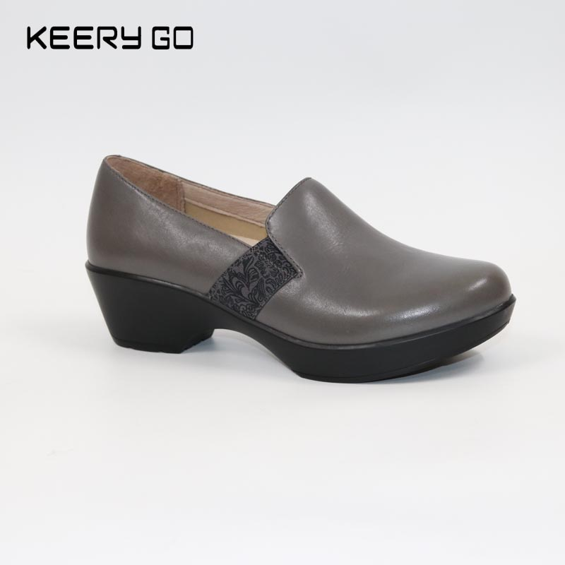 The Comfort Of Leather Shoes Jessica