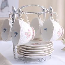 4 шт./компл. сад Стиль костяной фарфор чашка набор посуды Phnom Penh кружка Керамика Кофе чашка офис пара днем Чай чашка кружка для молока