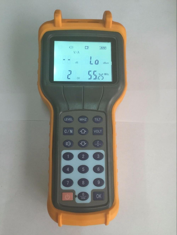 Économique CATV Signal Level Meter 46 ~ 870 MHz CATV Câble TV Testeur RY-S110 Numérique TV Mètre