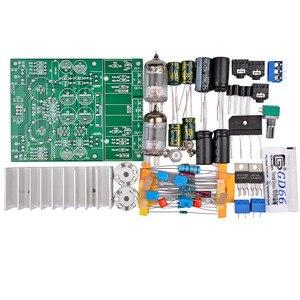 Image 3 - AIYIMA 6J1 safra tampon tüp preamplifikatör ses kartı LM1875T güç amplifikatörü kurulu 30W Preamp kulaklık amplifikatörü AMP DIY kitleri