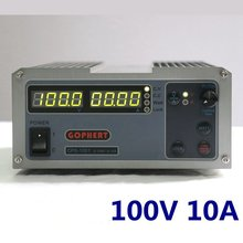Steady Gophert DC switching power supply CPS 1001 output 100v10a adjustable DC power lock four digit display