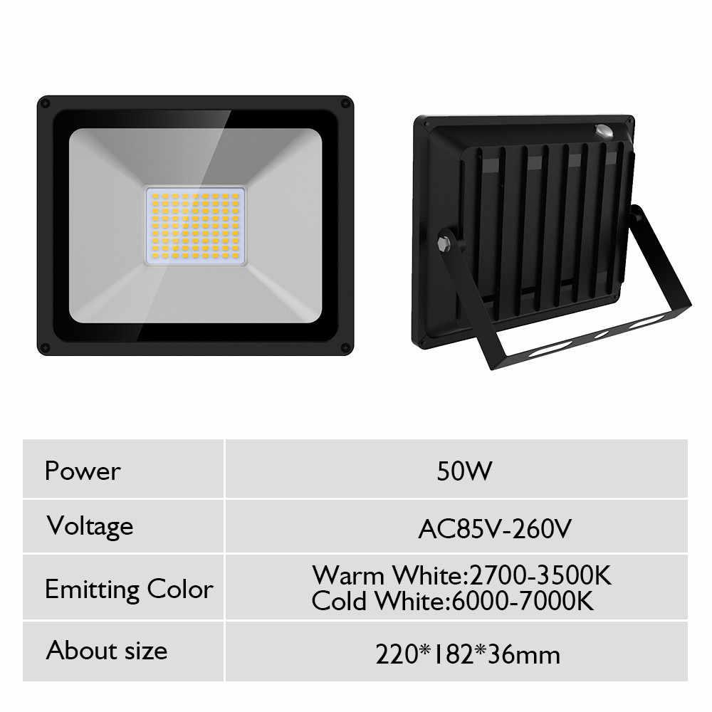 50 W 110 V идеальный прожектор со светодиодным модулем светодиодный уличный фонарь водонепроницаемый внешний светильник IP65 Светодиодный прожектор для улицы AC220V