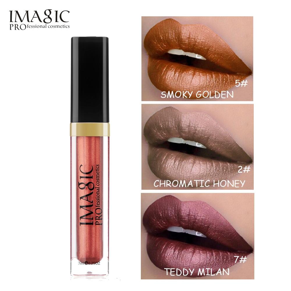 איפור שפתיים לא דביק Metal Gloss Set 8 צבע - איפור