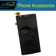 De color negro de Alta calidad Para Fly FS401 LCD Display + Touch digitalizador Pantalla de Envío libre 1 PC/Lot