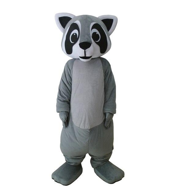 Горячие Крошка Енот маскарадный костюм характер серый медведь маскарадный  костюм енота костюмы для Хэллоуина вечерние события 92b2de57d5a63