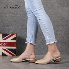 511eb54730 Sandálias das mulheres sapatos oxford do vintage leatehr genuine oxfords de salto  gladiador plana sandálias para