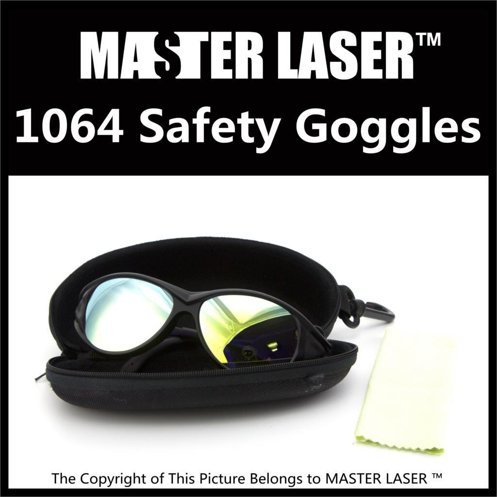 Meilleure Qualité Laser Lunettes de Sécurité Lunettes de Sécurité Laser Lunettes Anti Lunettes Laser 1064nm fiber 10.6 CO2