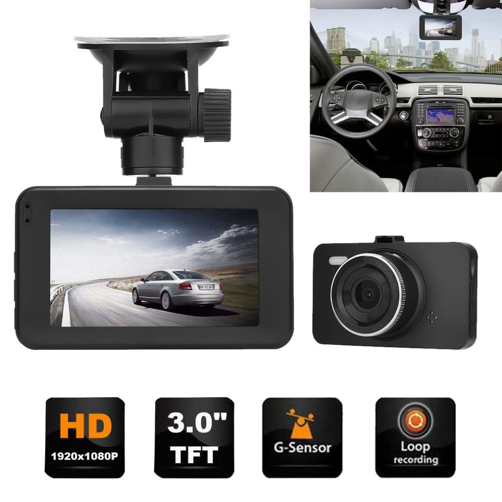 Оригинальный V41 Профессиональный Двойной объектив HD 1080 P 170 Degre Широкий формат Видеорегистраторы для автомобилей цифрового видео Регистрато...