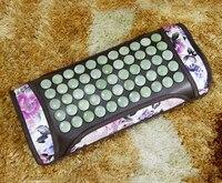 2015 Hot Heating Jade Cushion Natural Tourmaline Physical Therapy Pillow Korea Heated Neck Pillow Free Shipping