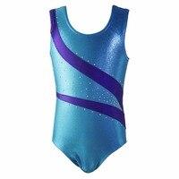 Girls Kids Ballet Dancewear Costume Leotards Dance Dress Ballet Tutu Gymnastics Leotard Acrobatics Jumpsuit