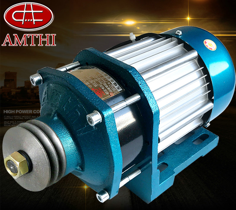 60v1200W 620rpm DC permanent magnet brushless center motor pulley electric car / Bicycle / DIY scooter motor driven by rear axle permanent magnet dc brushless motor bm1418hqf bldc 500w48v