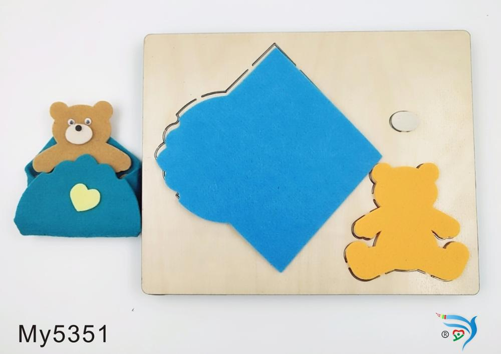 Bear envelope muyu cutting die new wooden mould cutting dies for scrapbooking Thickness 15 8mm