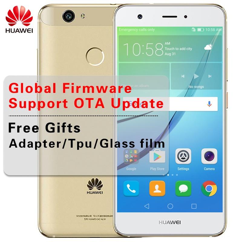 Оригинальный huawei Nova 4 ГБ Встроенная память 64 ГБ Оперативная память 5,0 дюймов Android 6,0 восьмиядерный смартфон 625 MSM8953 12.0MP Dual SIM