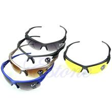 HOT Sports UV400 HD Night Vision Cycling Riding Running Driving Glasses Sunglasses Goggles Hiking Eyewear 3 Color