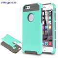 For iPhone 7 Case Hybrid High Impact Double Layer Armor Defender Case Protective Cover for iPhone 6 with Screen Protector 2 in1