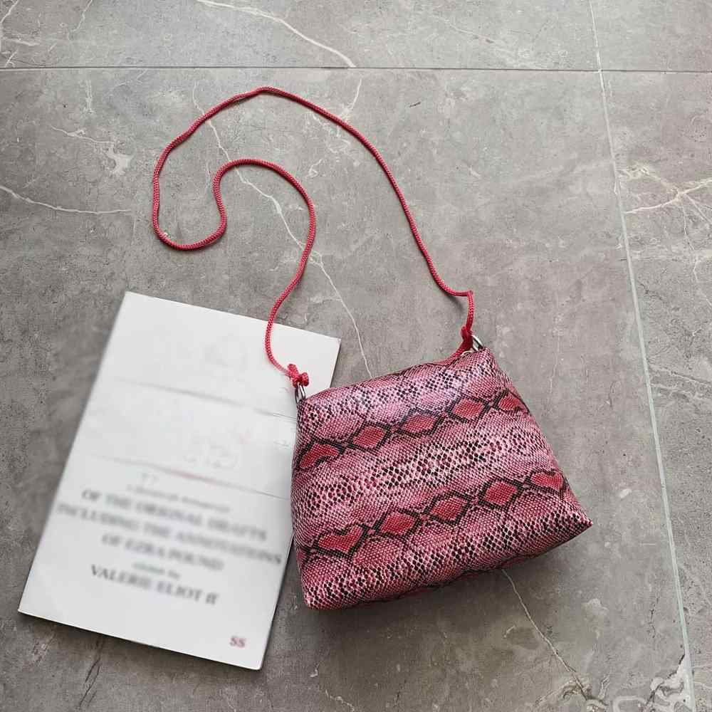Sacos crossbody para as mulheres 2019 nova Moda das Mulheres bolsa de couro de Cobra Padrão de Multi-Função Bolsa de Ombro bolsos mujer saco mulheres @