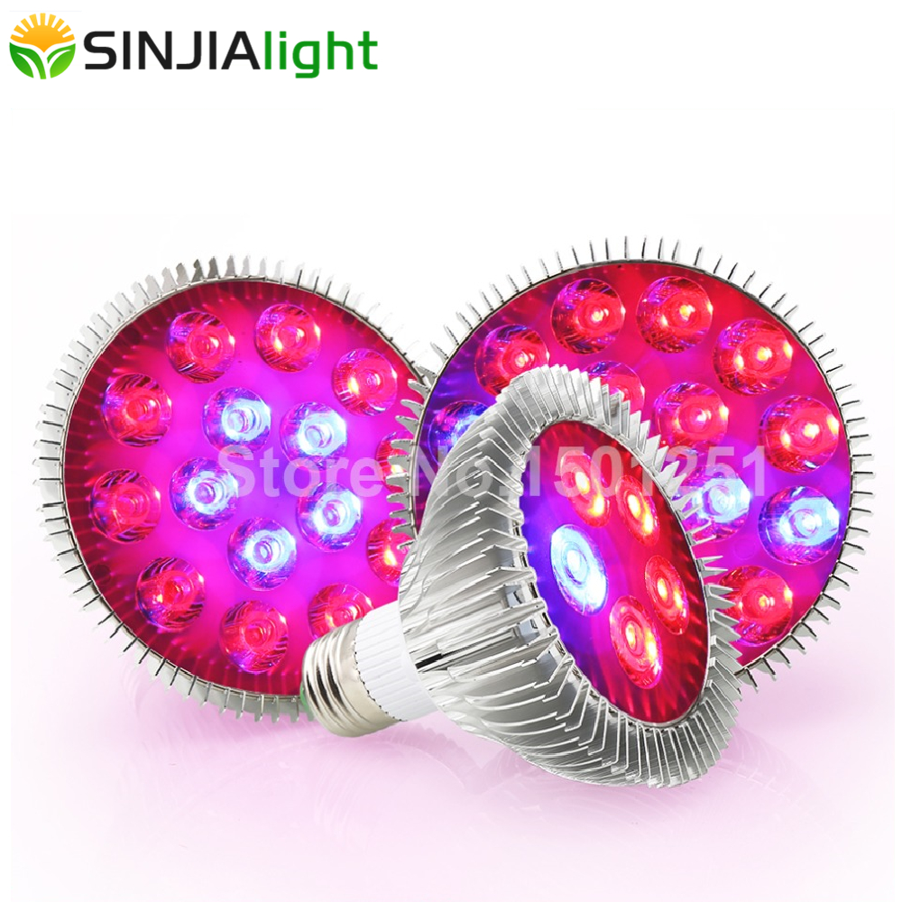 6W 15W 21W 27W 36W 45W 54W LED Grow Light Phytolamp Flower Bulbs For Garden Indoor Plants Growth Lamp Grow Box Red+Blue E27