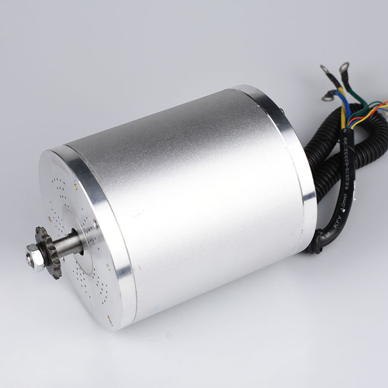DC Motor 48V 1500W Brushless Electric Bike Motor Electric Mid Drive Motor For Electric Vehicle electrica bicicleta Scooter parts image