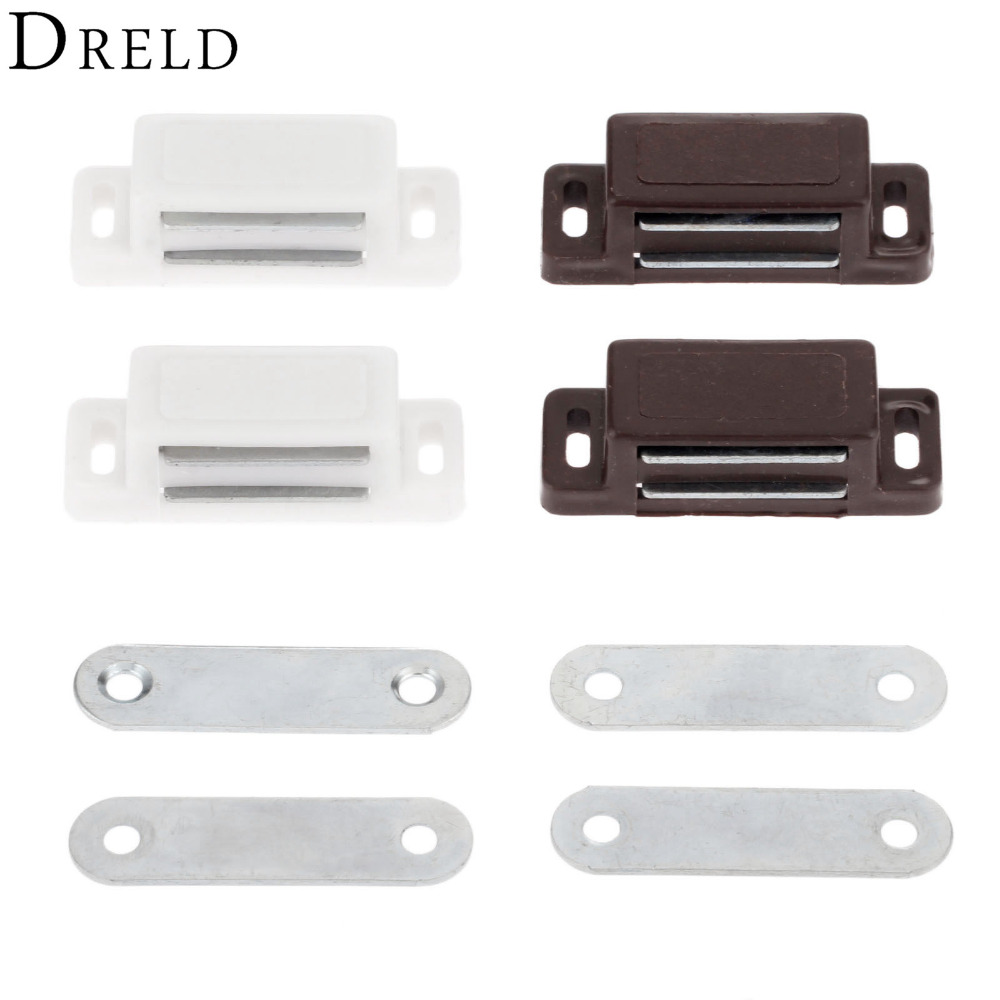 popular magnetic door catch buy cheap magnetic door catch lots dreld 2pcs 46 16mm magnetic door catches kitchen cupboard wardrobe magnetic cabinet latch catches furniture