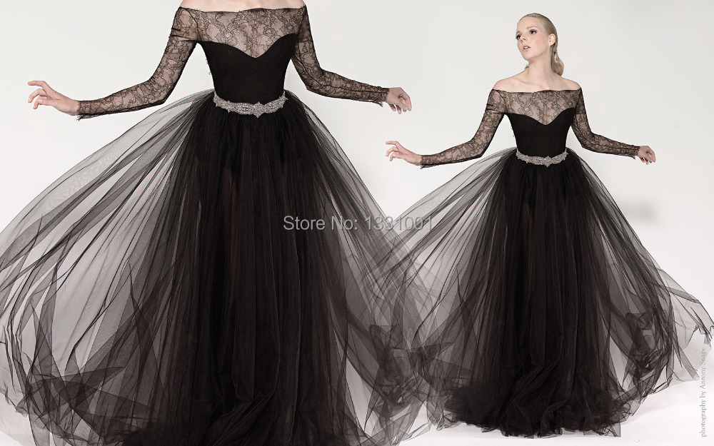 Plus Size Long Sleeve Evening Gowns 2015 New Arrival Party Dresses ...