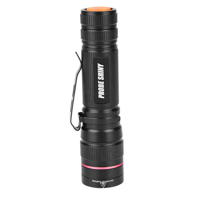 Led Lighting Lights & Lighting Active Probe Shiny G700 X800 Tactical Zoomable Focus Xml T6 Military Led Flashlight Torch Light Lamp+usb Cable 5000lm Noj06