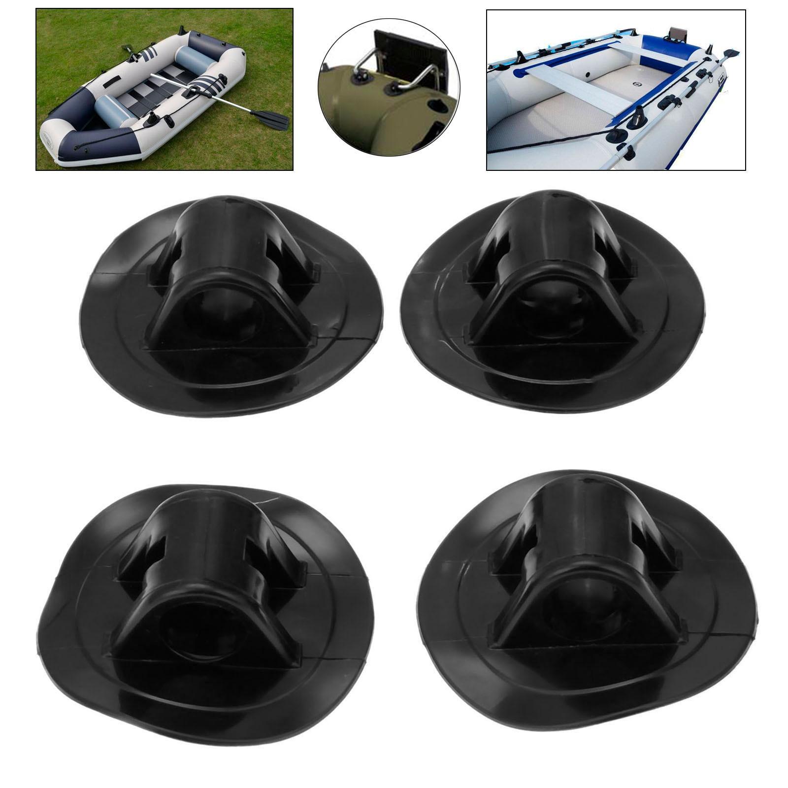 2pcs Inflatable Kayak Dia Engine Mount Boat Motor Stand Holder Grommet Fix Hook