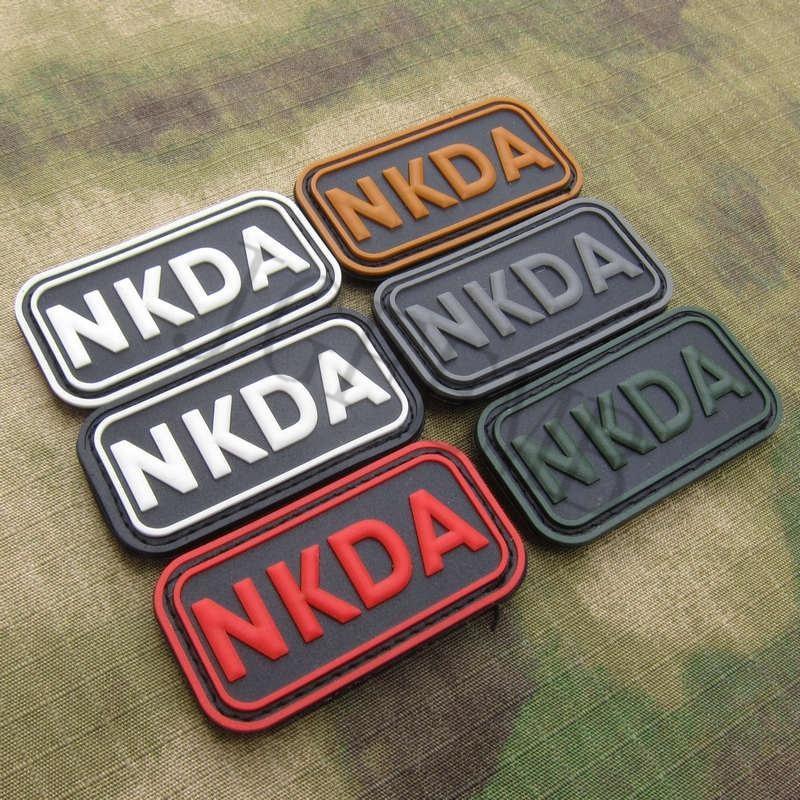 DEVGRU-NSWDG-NKDA-No-Known-Drug-Allergies-Tactics-Morale-3D-PVC-patch-Black-Red-Green-Grey (1)
