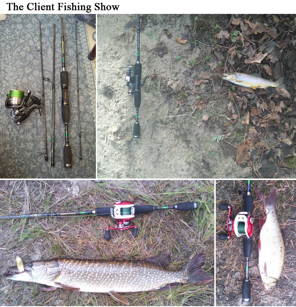 spinning casting fishing rod