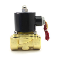 3 4 2W 200 20 AC 220V Electric Solenoid Valve Water Oil Air Gas Pneumatic Valve