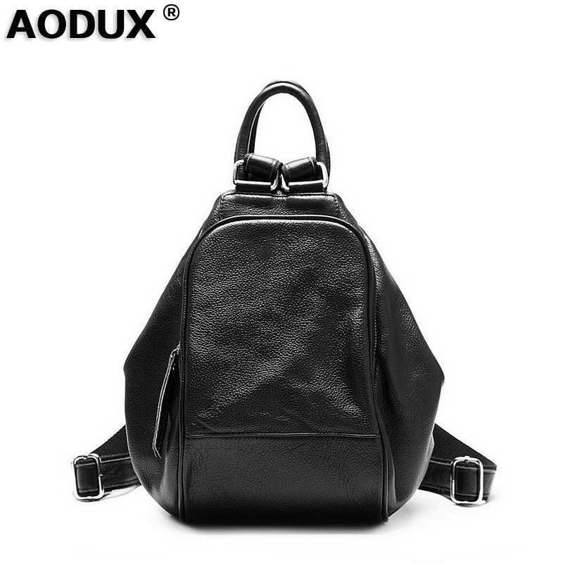 Fashion 100% Soft Natural Genuine Leather Shoulder Womens Backpack Women Ladies First Layer Real Cowhide Casual BagFashion 100% Soft Natural Genuine Leather Shoulder Womens Backpack Women Ladies First Layer Real Cowhide Casual Bag