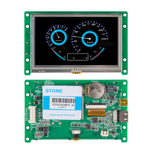 1 piece full color 5.6 intelligent tft lcd module with rs232 port