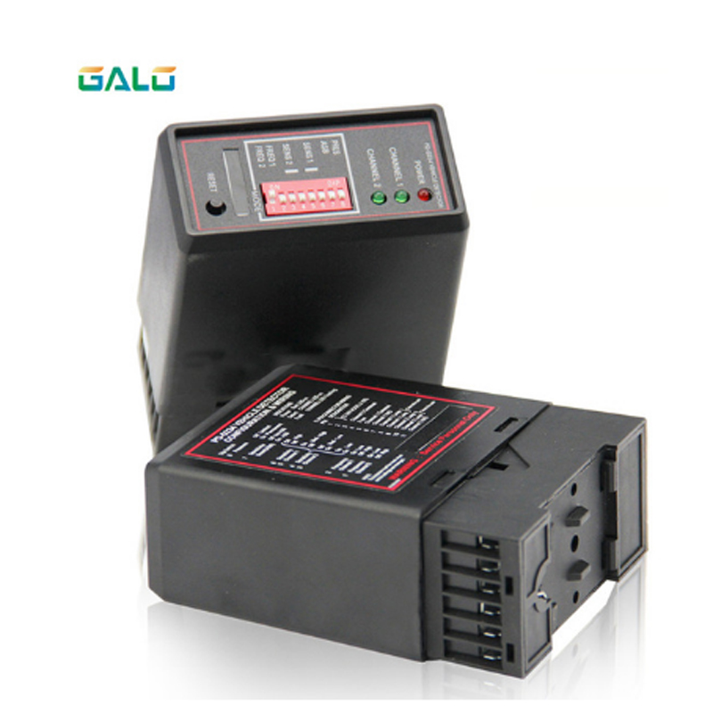 PD232 Enhanced Dual-channel Induction Loop Vehicle Detector For Parking Barrier System Parking Lot