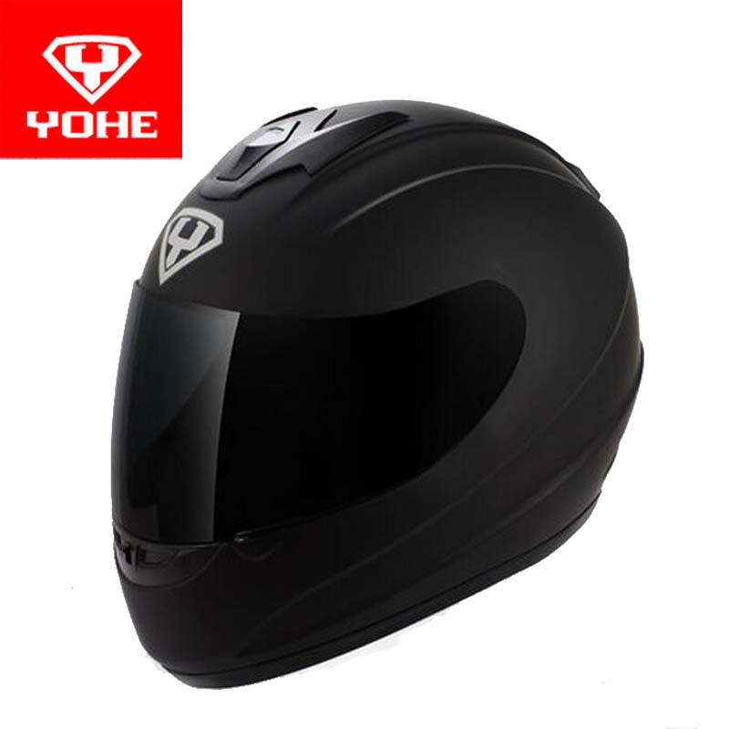 2017 New  YOHE Full Face motorcycle helmet YH-993 Full cover motorbike helmets made of ABS and PC Visor lens have 5 kinds colors yohe full face motorcycle helmet yh 967 double lense full cover motorbike helmets made of abs pc lens visor have 9 kinds colors