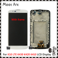 10pcs/lot High Quality 5.3'' For LG K10 LTE K430 K430DS/K410 K420 K420N LCD Display Screen With Touch Screen Digitizer Assembly