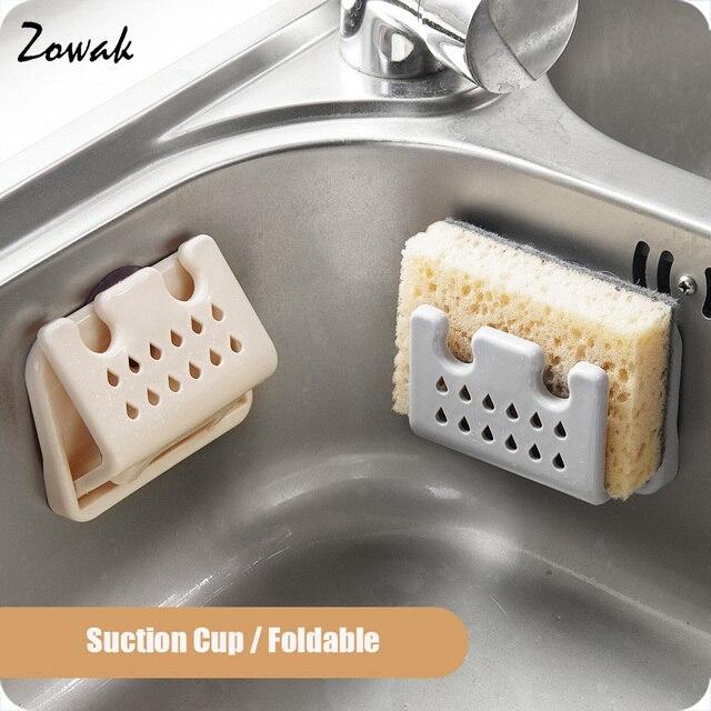 1pc kitchen sink organizer caddy storage holder for sponges soaps