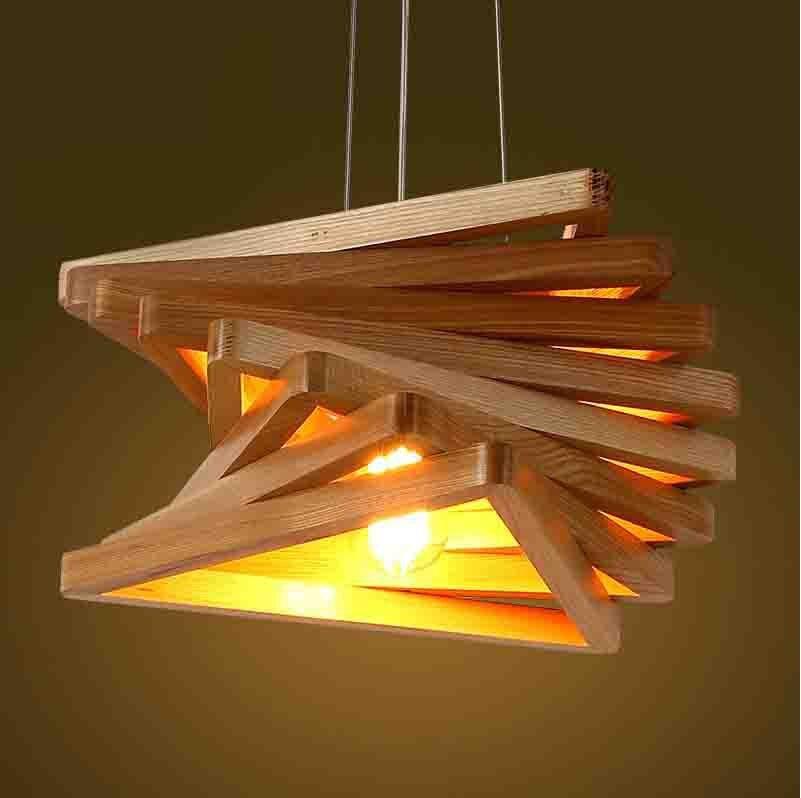 Lamparas de techo para comedor for Comedor minimalista de madera