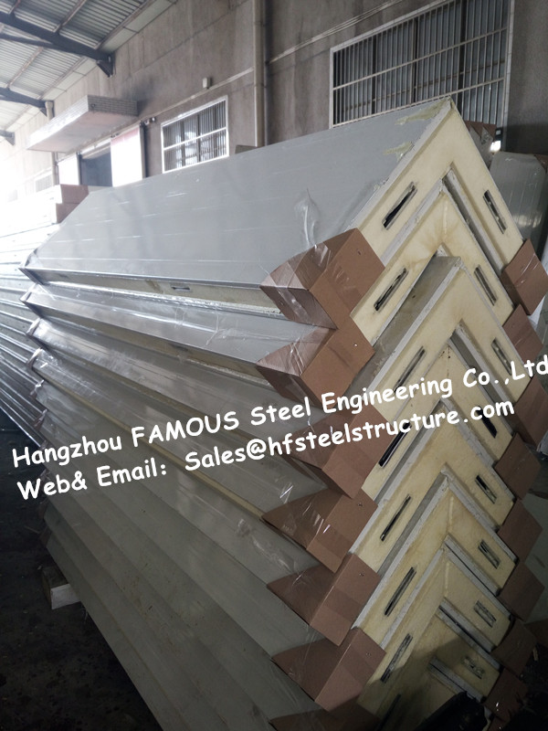 Fireproof Cold Room Panel And Insulated PU Sandwich Panels Used In Cold Storage And Cooler Box To Keep Food And Fruit  Fresh