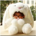 Free shipping   cute 20cm plush doll monchhichi change to animal monchichi children toy .best gift for friend