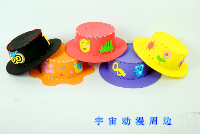 Aliexpress.com : Buy 4 PCs EVA handmade hat for kids and ...