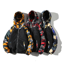 Spring Autumn Mens Jackets Camouflage Military Hooded Coats Casual Zipper Male Windbreaker Men Brand Clothing plus size S-3XL