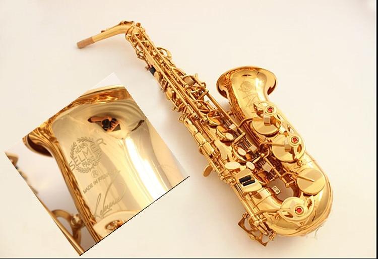 New France Henri SELMER SAS-54 E Flat Alto Saxophone High Quality Alto saxophone Super Professional Musical Instruments Free alto saxophone musical instruments high quality japan yanagisawa w01 a 901 e flat saxophone yanagisawa alto sax professional