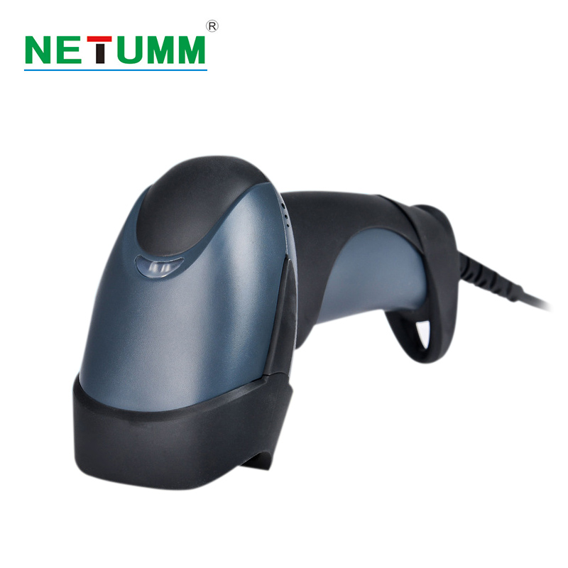 barcode QR Scanners laser NETUM-M5 image two-dimensional scanning guns cable pay treasure bar code gun screen express supe acan2208 laser auto sense mode scanning gun w holder black