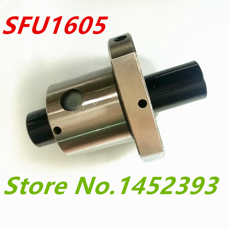SFU1605-1050mm-C7 Ball Screw/&Ball Nut/&BK//BF12/&Nut Housing for CNC Machine Tool