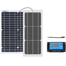 Get more info on the Xinpuguang Flexible Solar Panel 18 Volt 10 Watt 20 Watt with 10A controller for 12 volt battery Hiking Car&Boat light Charger
