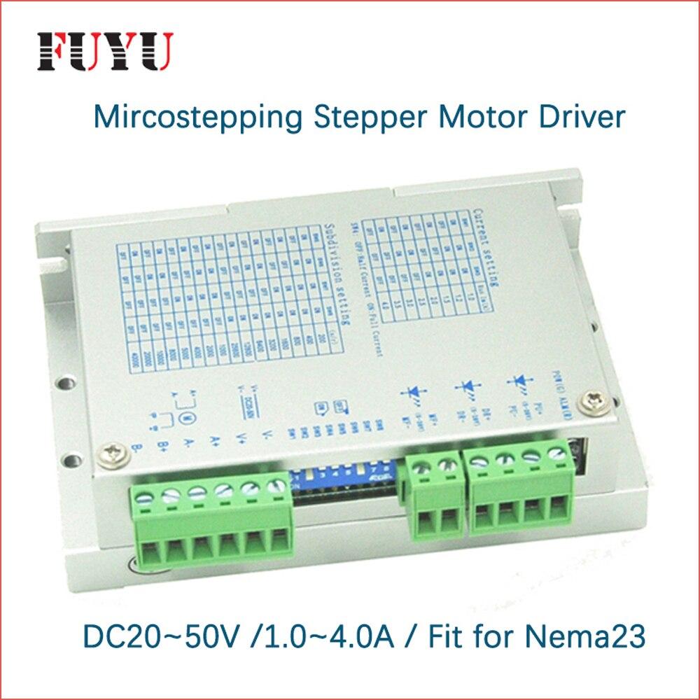 Nema23 driver del motore passo-passo per FLS40 FUYU linear motion guidaNema23 driver del motore passo-passo per FLS40 FUYU linear motion guida