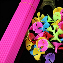 Retail 10pcs/lot Balloon pole 40CM balloon accessories Latex Wedding Birthday party decoration AB326